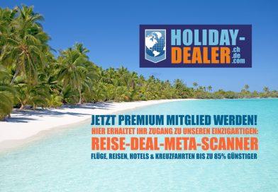 Unseren Reise-Deal-Meta Scanner  / Reise Deals bis zu 85% günstiger!