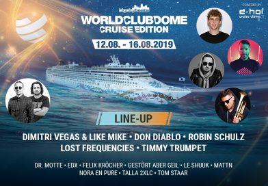 Ultimative 5-Tage Party-Kreuzfahrt im Mittelmeer!!!  Mit über 40 DJ's & Live Acts !!